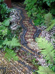 pebble pathways