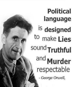 political lang orwell