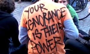 your ignorance