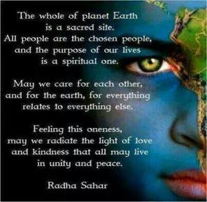 spiritual earth