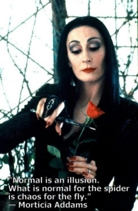 Morticia on Normal