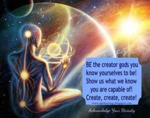 Be the Creator Gods