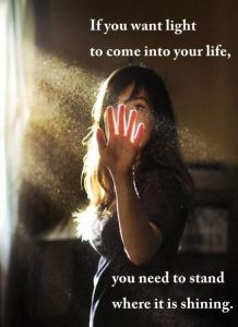 Stand Where the Light Shines