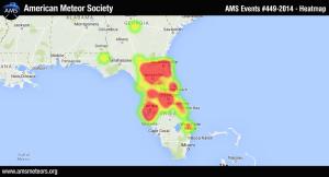 Fireballs over Florida