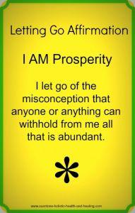 i am prosperity