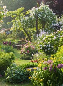 Andre Eve Garden, France - photo by Clive Nichols