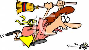 A_Colorful_Cartoon_Woman_Chasing_a_Mouse_with_a_Broom_Royalty_Free_Clipart_Picture_110102-144788-438053